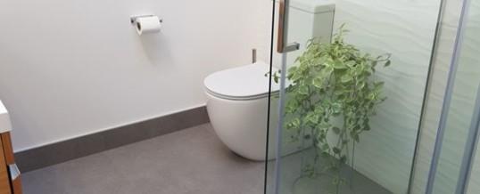 Tiled Shower using Tile Safe System