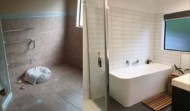Hardings Freestanding bath before and after