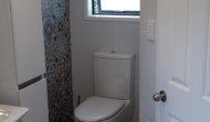 Morley's completed bathroom