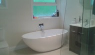Muller finished bathroom